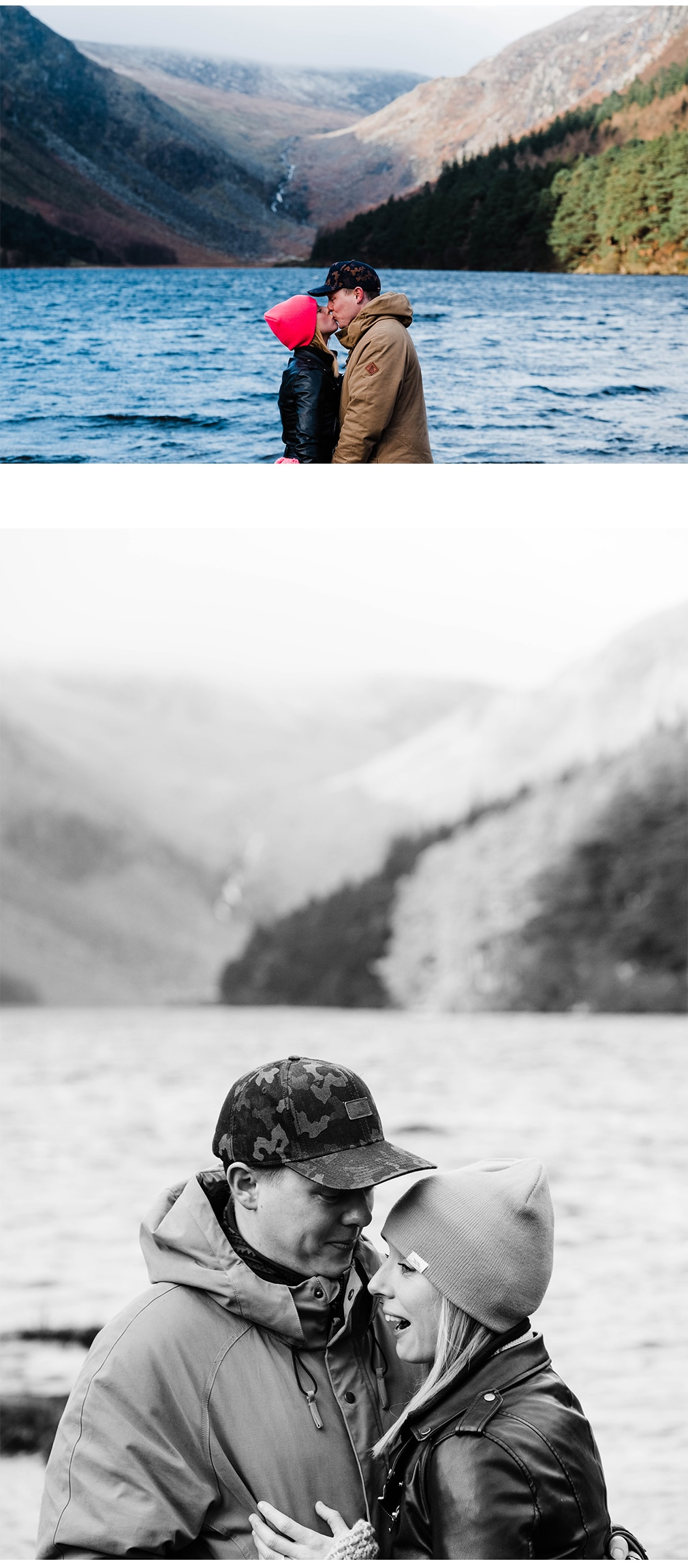 Engagement shoot Glendalough