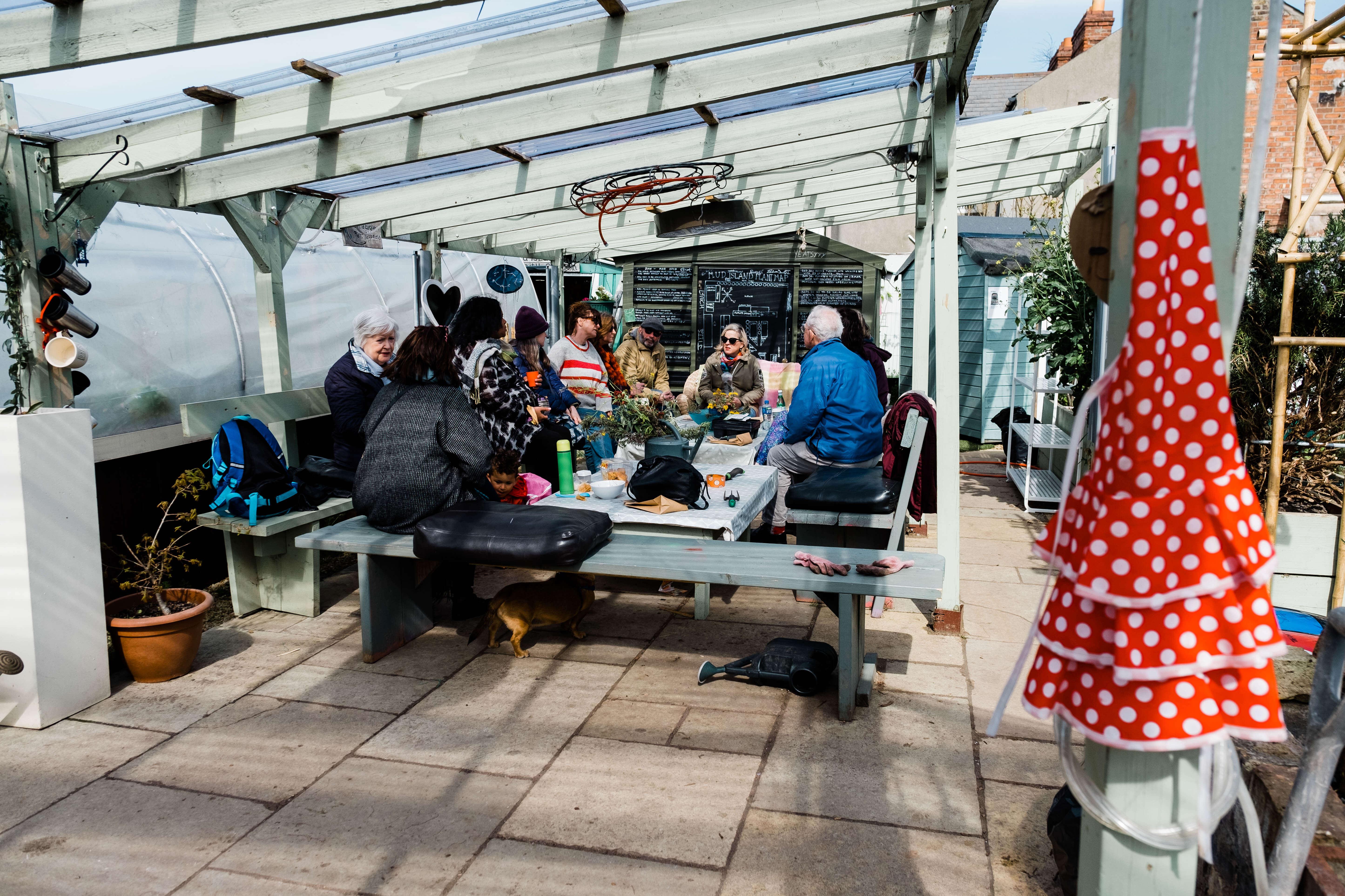 Mud Island Community Garden, Portraits, Portrait photography, portrait photographer Dublin, Faces of Fairview